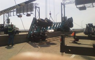 Truck on Bridge 7