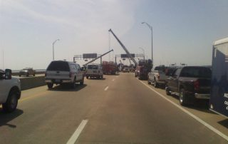 Truck on Bridge 27