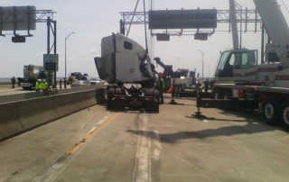 Truck on Bridge 29