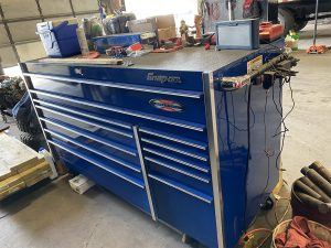 truck repair shop toolbox